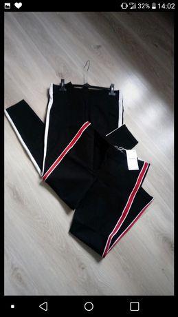 Nowe spodnie z metkami zara trafaluc XL 2 pary
