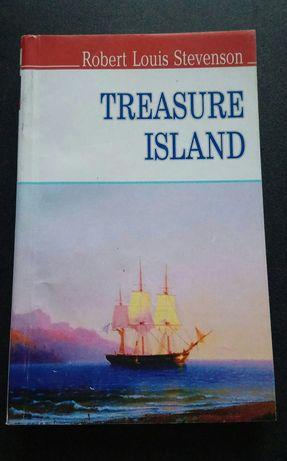 """Книга на английском """"Treasure Island"""""""