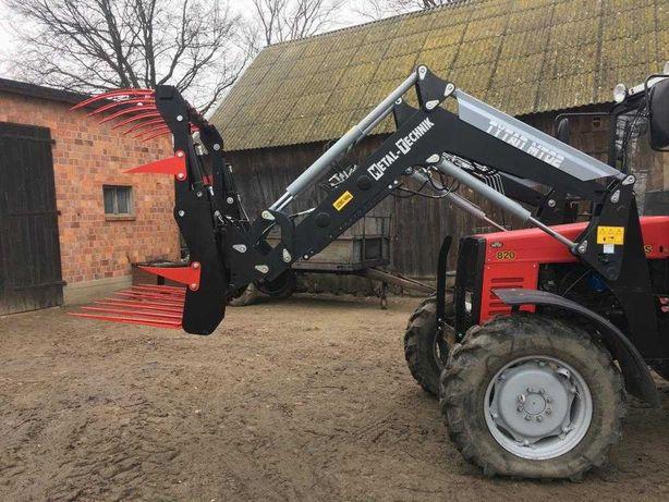Ładowacz-Tur Metal technik MT02 Euroramka Zetor Ursus Case JD MF