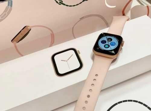 Apple Watch SE Gold de 40mm C/ Novo Oferta 2 Pulseiras e Capa Proteção
