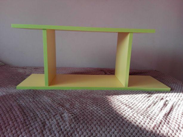 Półka żółto - zielona