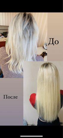 Наращивание волос / плетение афро кос