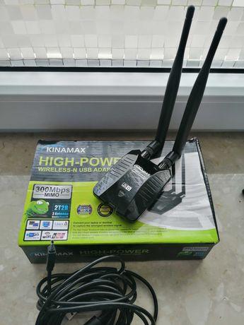 Antena wifi do wzmocnienia sygnału.