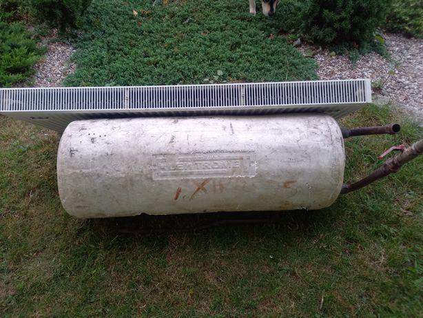 Bojler, pompa, wymiennik ciepla 140l