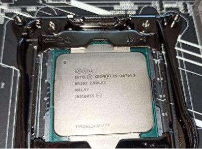 Процессор E5 2678v3 2678 v3 12 ядер/24 потока 2011-3 2011v3