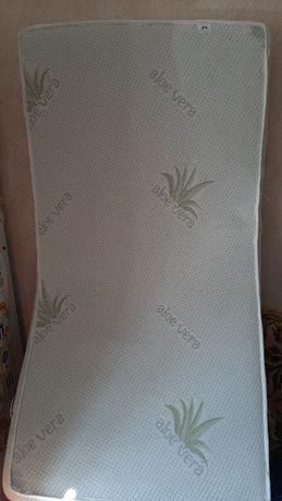 Для  детской кроватки двусторонний бамбуковый матрас матрасик