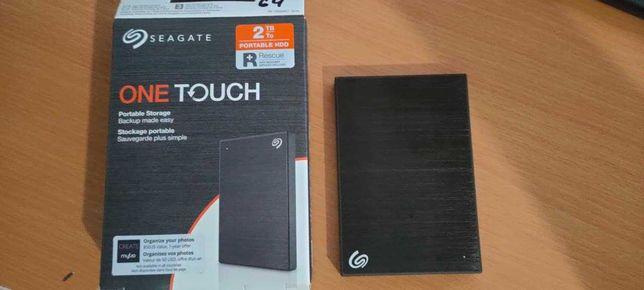 Внешний жёсткий диск SEAGATE One Touch [2TB/USB3.2/BLACK] 3шт