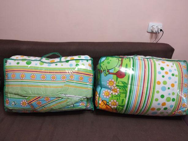 Комплект постельного белья Набор в детскую кроватку 10 предметов