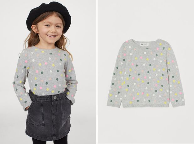 Джемпер H&M реглан свитер лонгслив свитшот кофточка 4, 5, 6 лет