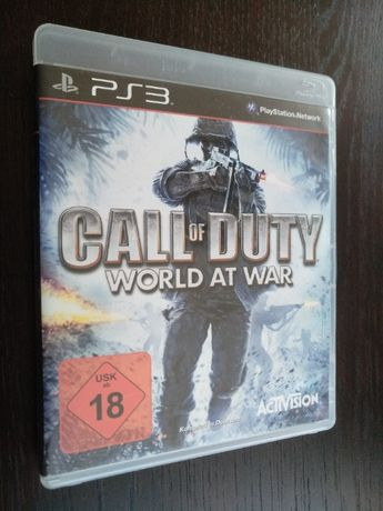 Gra PS3 Call of Duty World at War | U mnie GTA, LEGO, Playstation, COD