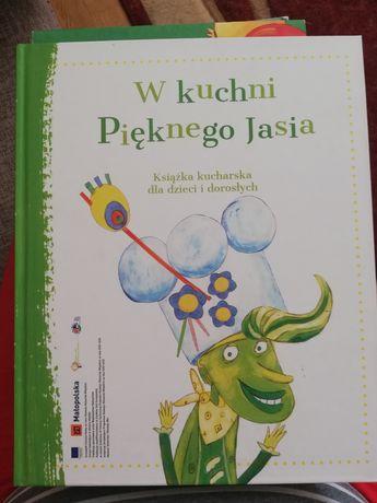 """Książka W kuchni pięknego Jasia z płytą """"Piękny Jaś z doliny Dunajc"""