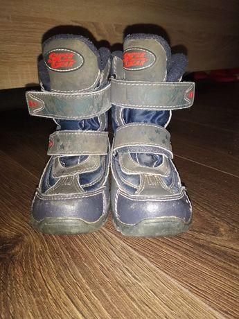 Зимние ботинки на мальчика supergear термо 25 размер