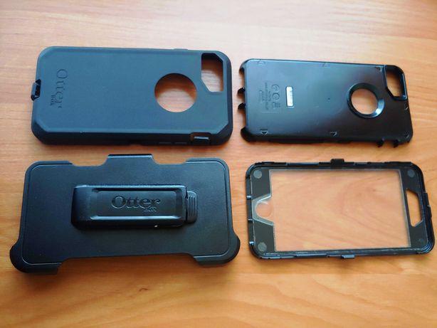 Etui  Kabura Otterbox Defender Z Klipsem Do Iphone 6/7/8 (Czarna)