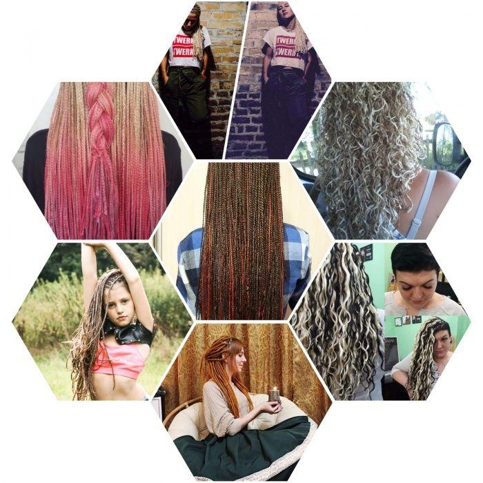 Афрокосички / плету афрокосички, зи-зи , де- дреды.