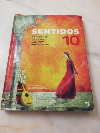Manual Português 10 °ano Sentidos