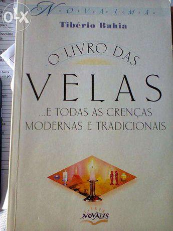 O livro das velas de Tibério Bahia