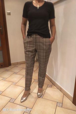 Spodnie eleganckie Mohito na kant