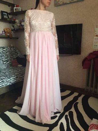 Свадебное крутое платье!!