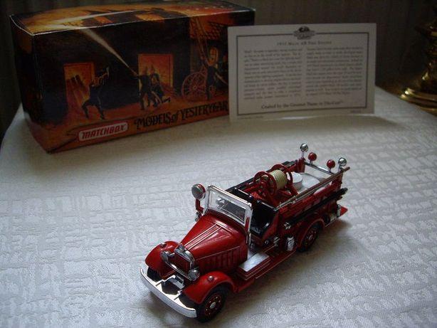 Matchbox Yesteryear MACK AB FIRE ENGINE Straż