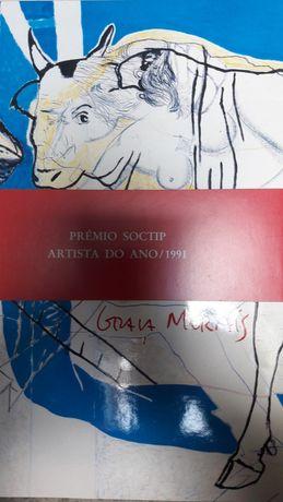 Livro rigorosamente novo de Graça Morais.