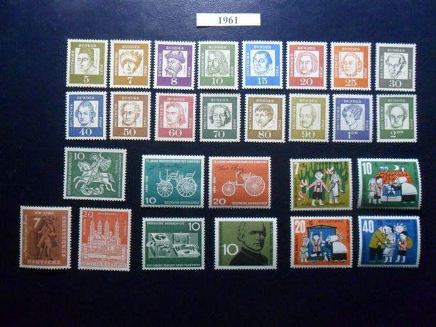1961-1963 ФРГ Германия ГОДОВЫЕ НАБОРЫ (3 фото)