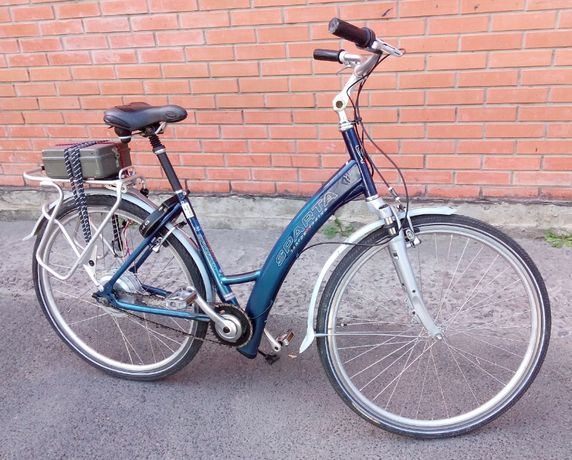 "Электровелосипед SPARTA 46/28"" батарея за доплату 36 В 10 Ач"