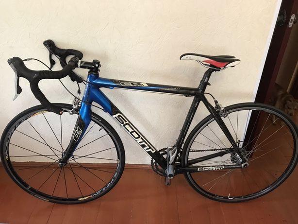 Продам шоссейный велосипед для занятий триатлоном