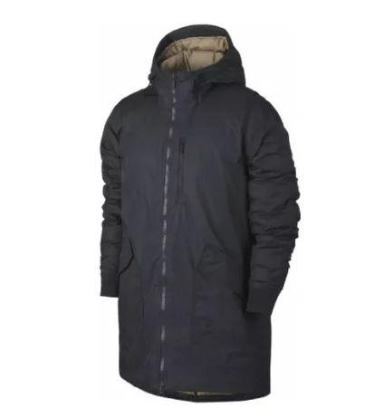 Jordan r. 3XL lekka, ocieplana, solidna kurtka-płaszcz