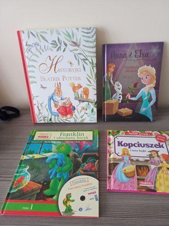 Książki dla dzieci, Franklin, Anna&Elza, Historyjki Beatrix Potter