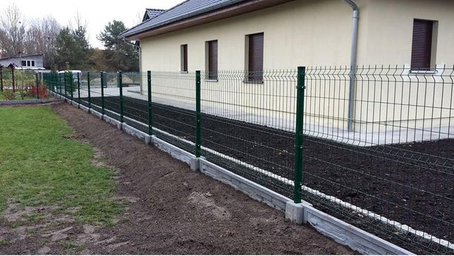 Promocja! Ogrodzenie panelowe panel ogrodzeniowy Panel 153 fi 4