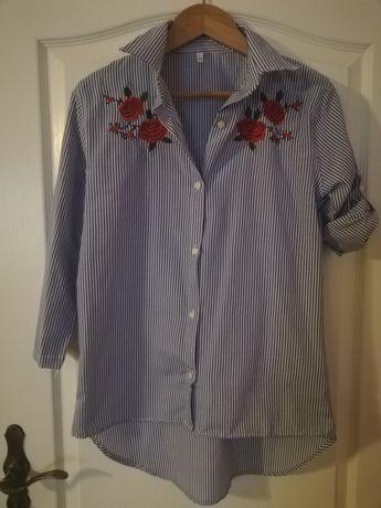 Koszula z różami rozmiar L