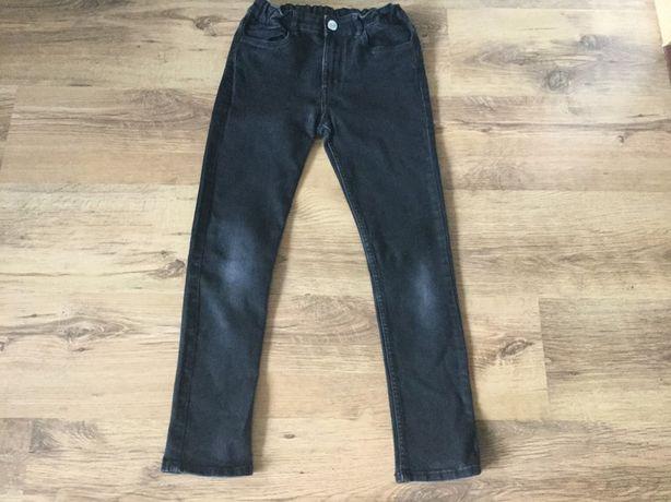 Spodnie rurki skinny fit H&M rozm. 152