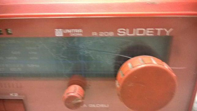 Radio Sudety R 208 Unitra Diora do kolekcji rzadkie