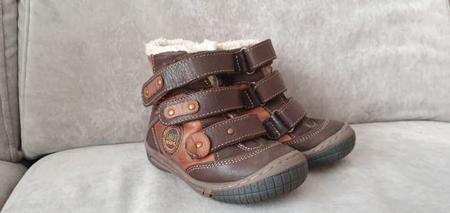 buty dziecięce 22 - 23 skórkowe zimowe