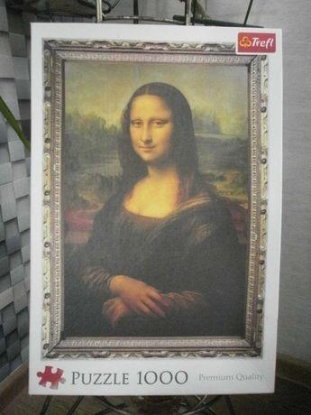 """Пазлы 1000 штук.""""Мона Лиза"""""""