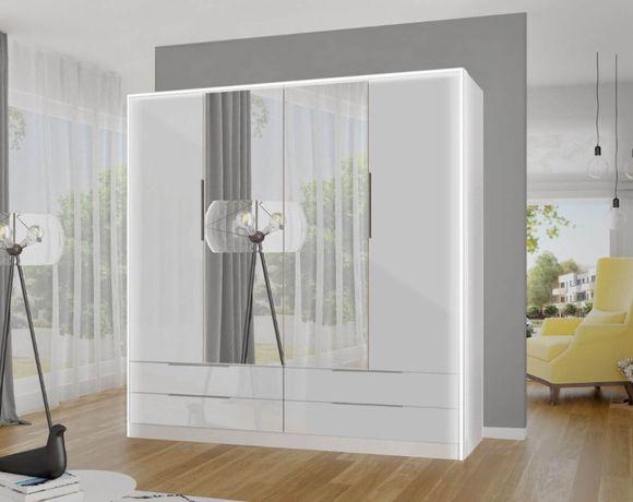 Szafa IRINA z lustrami + LED 207x220x60 cm