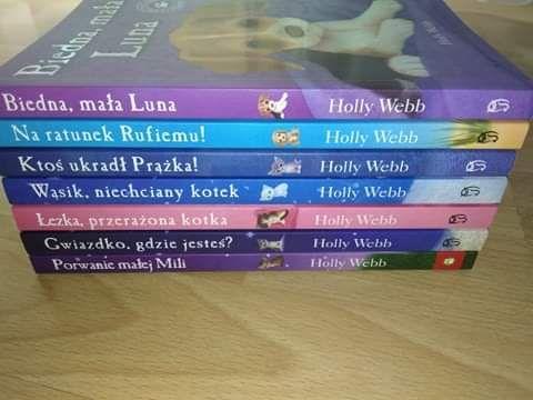 Książki autorstwa Holly Webb