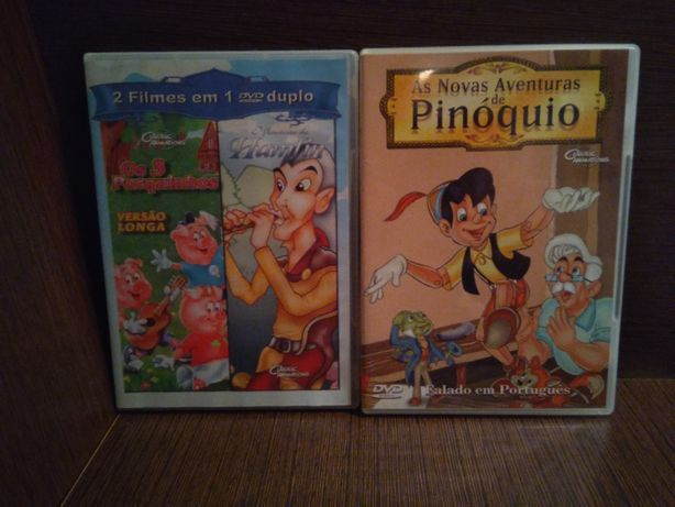 DVD filmes / animação