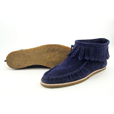 Ботинки кожаные замшевые р 39 splendid Италия новые