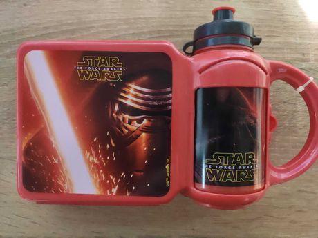 Zestaw kanapówka plus bidon Star Wars