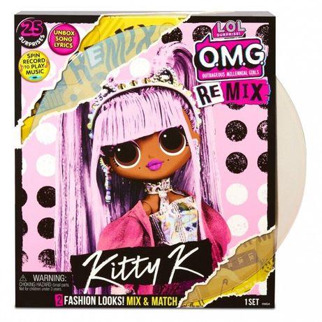 Кукла лол Королева Китти 567240 O.M.G. Remix Оригинал
