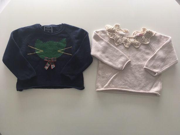 2 camisolas Lanidor 2A portes grátis