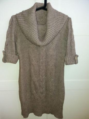 Długi sweter M/L