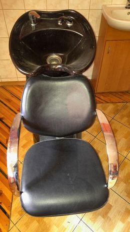 Myjka fryzjerska do zakładu fryzjerskiego