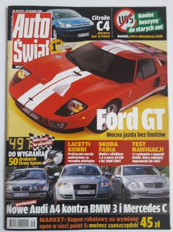 Auto Swiat Nr 497 - magazyn motoryzacyjny