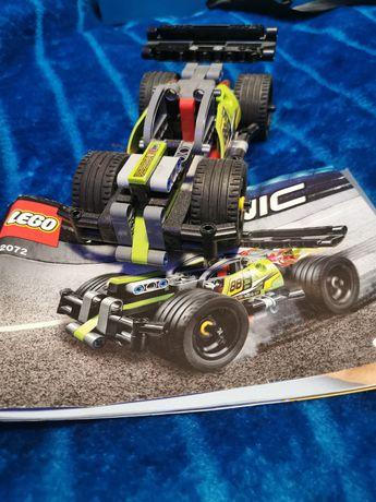 Lego 42072 Technic Żółta Wyścigówka, instrukcja.