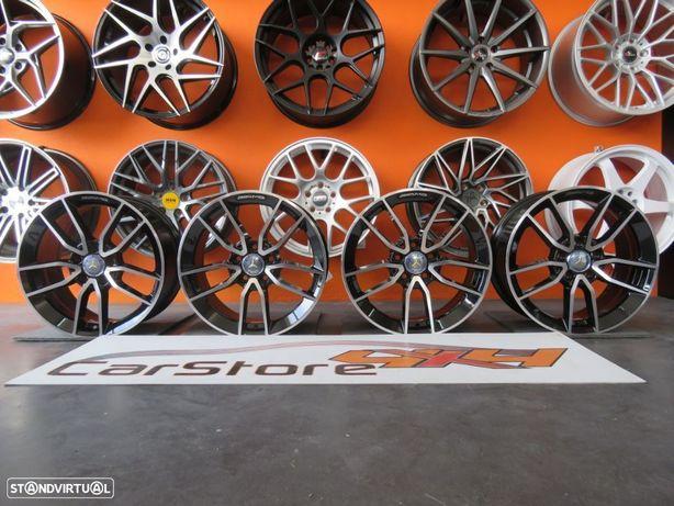 Jantes Look Mercedes CLA Amg  17 x 7.5 et 45 5x112 Pretas + Polidas