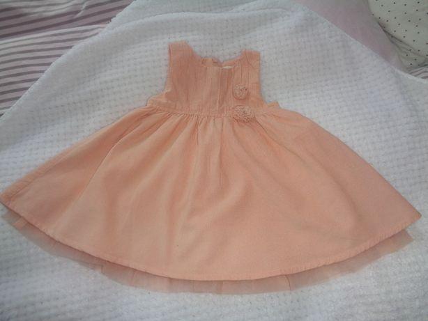 Sukienka wyjściowa, elegancka COOLCLUB rozmiar 74 cm