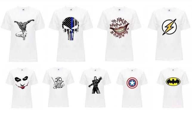 Koszulka dziecięca T-shirt Marvel Joker Batman Różne 104-152