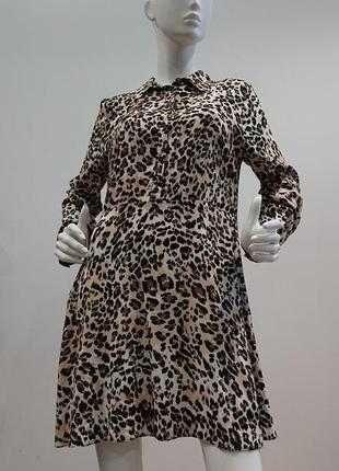 Трендове платье рубашка primark M/L